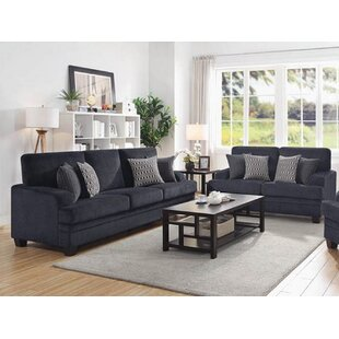 Carrillo 2 Piece Living Room Set by Alcott Hill