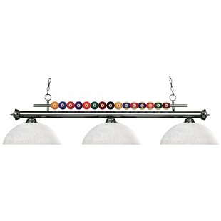 Red Barrel Studio Chapa 3-Light Billiard Pendant