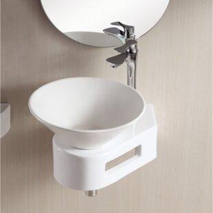 Read Reviews Ceramica II Ceramic Circular Vessel Bathroom Sink By Caracalla