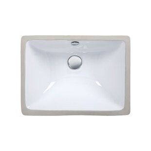 Ryvyr Ceramic Rectangular Undermount Bath..