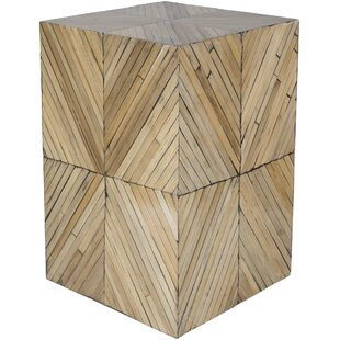 Margene Global-Inspired Wood End Table