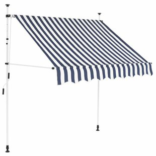 Ewell W 1.5x D 1.2m Retractable Patio Awning By Sol 72 Outdoor