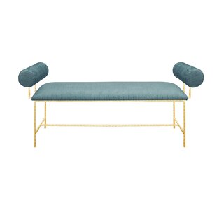 Upholstered Bench By Worlds Away