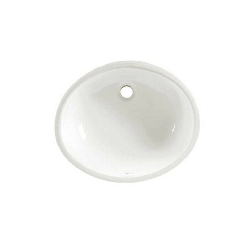 American Standard Ovalyn Vitreous China Oval Undermount Bathroom Sink With Overflow Reviews Wayfair