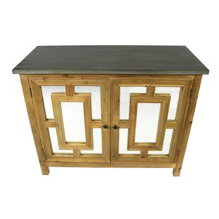 Oxalis 2 Door Accent Cabinet by Rosecliff Heights