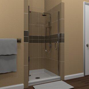 Swinging 28 x 67 Hinged Semi-Frameless Shower Door by Arizona Shower Door