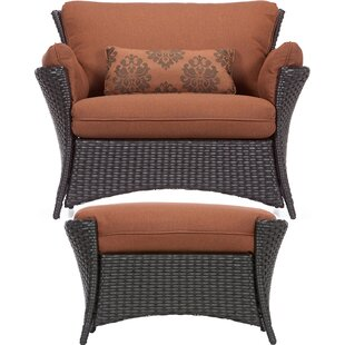 Asherman 2 Piece Deep Seating Chair with Cushion