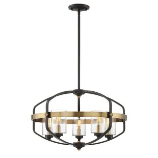 17 Stories Esme 5-Light Foyer Pendant