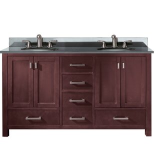 Poyen 61 Double Bathroom Vanity Set by Charlton Home
