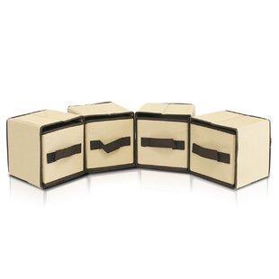 Savings Laci Storage Fabric Box (Set of 4) By Furinno