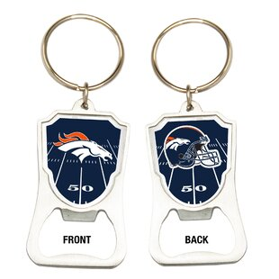 NFL Keychain Bottle Opener By Great American Products