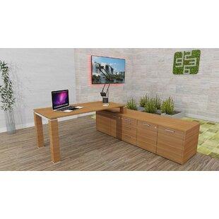 Katina Executive Desk By Ebern Designs