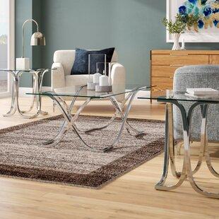 Orren Ellis Bingaman 3 Piece Coffee Table Set