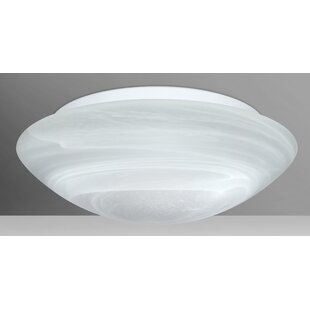 Besa Lighting Nova 3-Light Outdoor Flush Mount