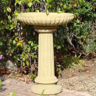 Designer Stone, Inc English Tall Birdbath