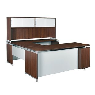 Brayden Studio Maverick 5-Piece U-Shape Desk Office Suite
