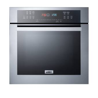 Bertazzoni 24 Self Cleaning Convection Electric Single Wall