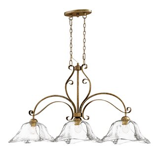 Fleur De Lis Living Whaley 3-Light Pendant