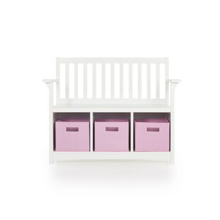 Viv + Rae Matilda Wood Storage Bench