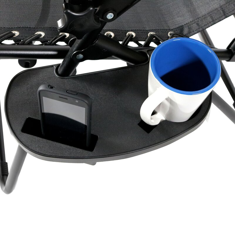 SunnyDaze Decor Universal Oval Zero Gravity Chair Cup Holder with