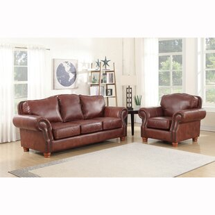 Affordable Vranduk 2 Piece Leather Living Room Set by Canora Grey Reviews (2019) & Buyer's Guide