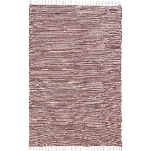 Check Prices Bruges Flatweave Chenille Brown/White Area Rug By Bungalow Rose
