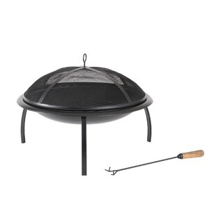 Norfolk Steel Wood Burning Fire Pit By Madeleine Home