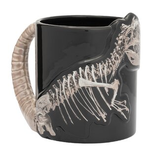 Dino Skeleton 20 oz. Sculpted Coffee Mug