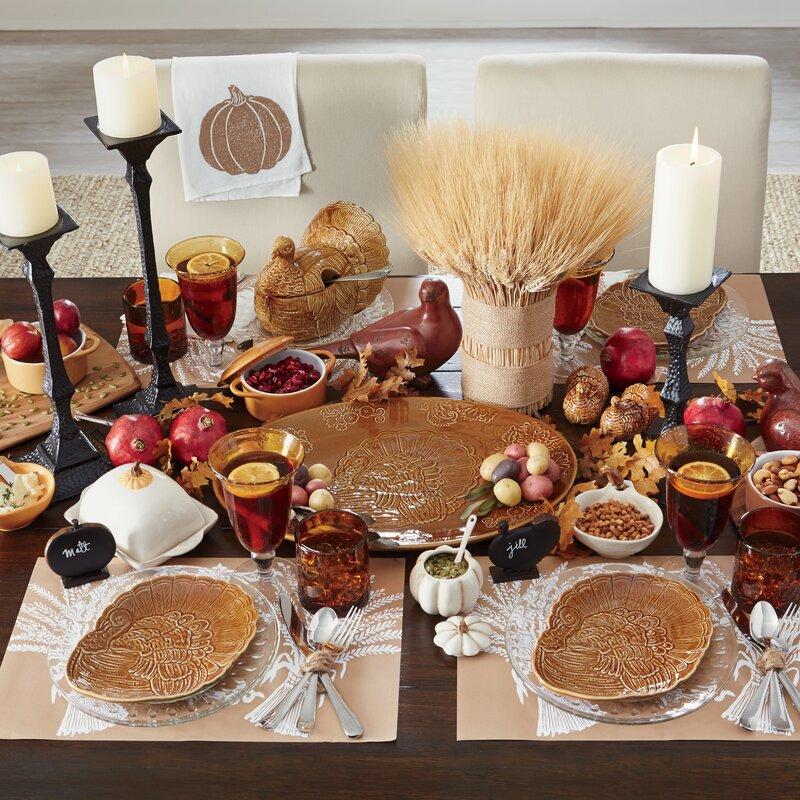 Turkey Dinner Plates & Birch Lane™ Turkey Dinner Plates u0026 Reviews | Wayfair