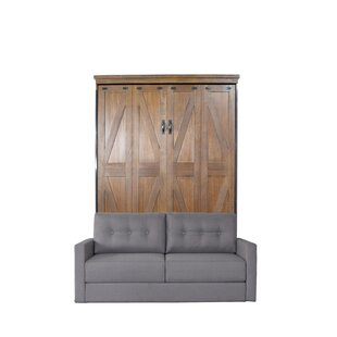 Wehr Queen Upholstered Murphy Bed by Gracie Oaks