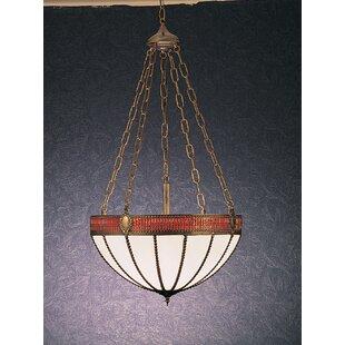 Meyda Tiffany Gothic 4-Light Bowl Pendant