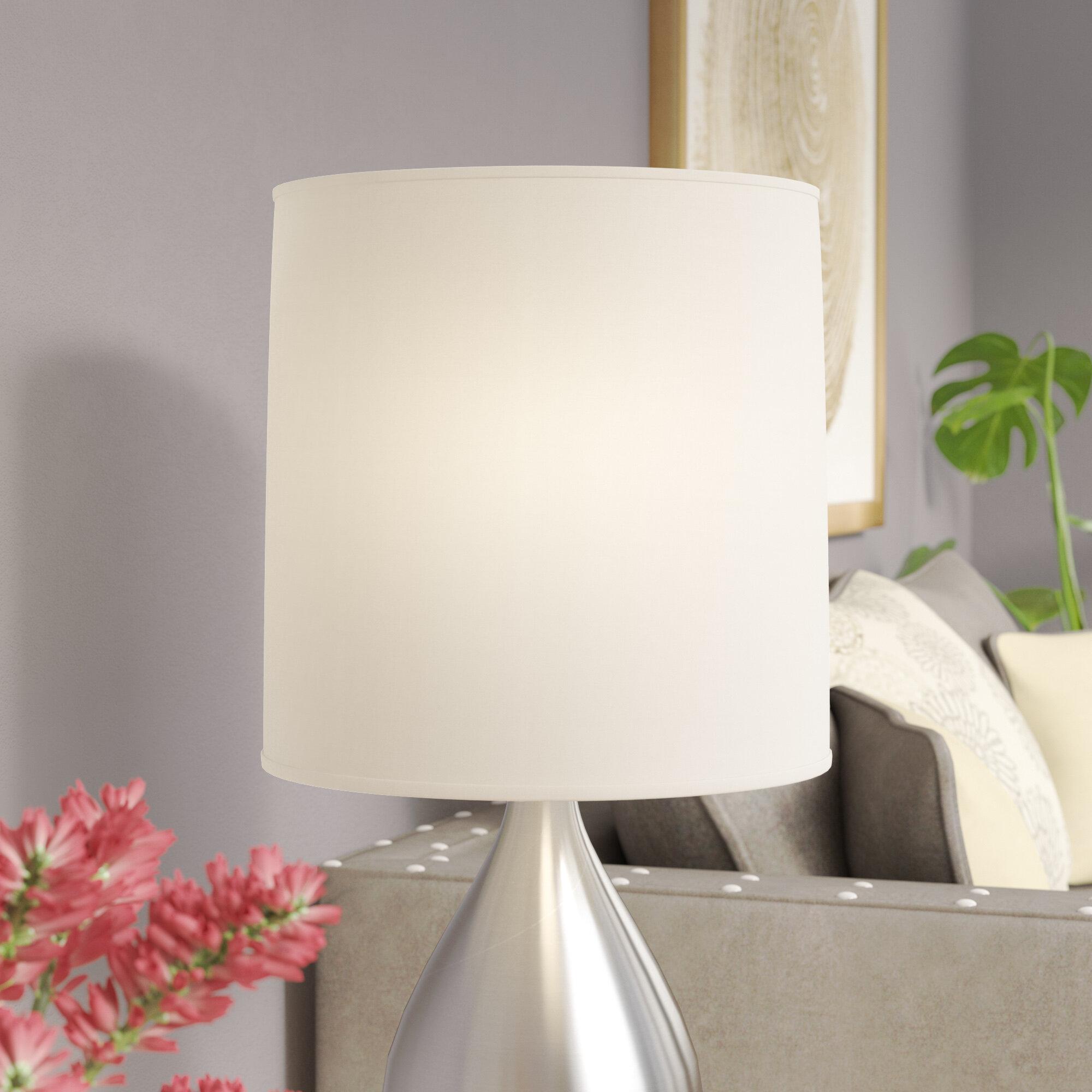 Brayden Studio Linen Drum Lamp Shade & Reviews | Wayfair