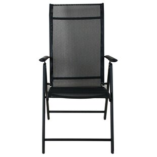 Moira Reclining Folding Patio Dining Chair