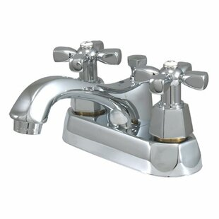 Metropolitan Centerset Bathroom Faucet with Double Cross Handles by Elements of Design
