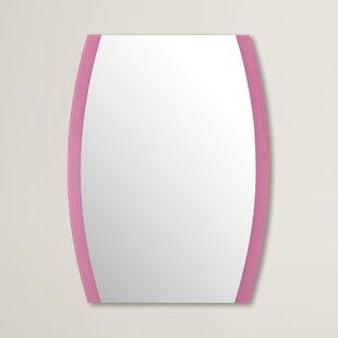 Pink Framed Wall Mirror ByBrayden Studio