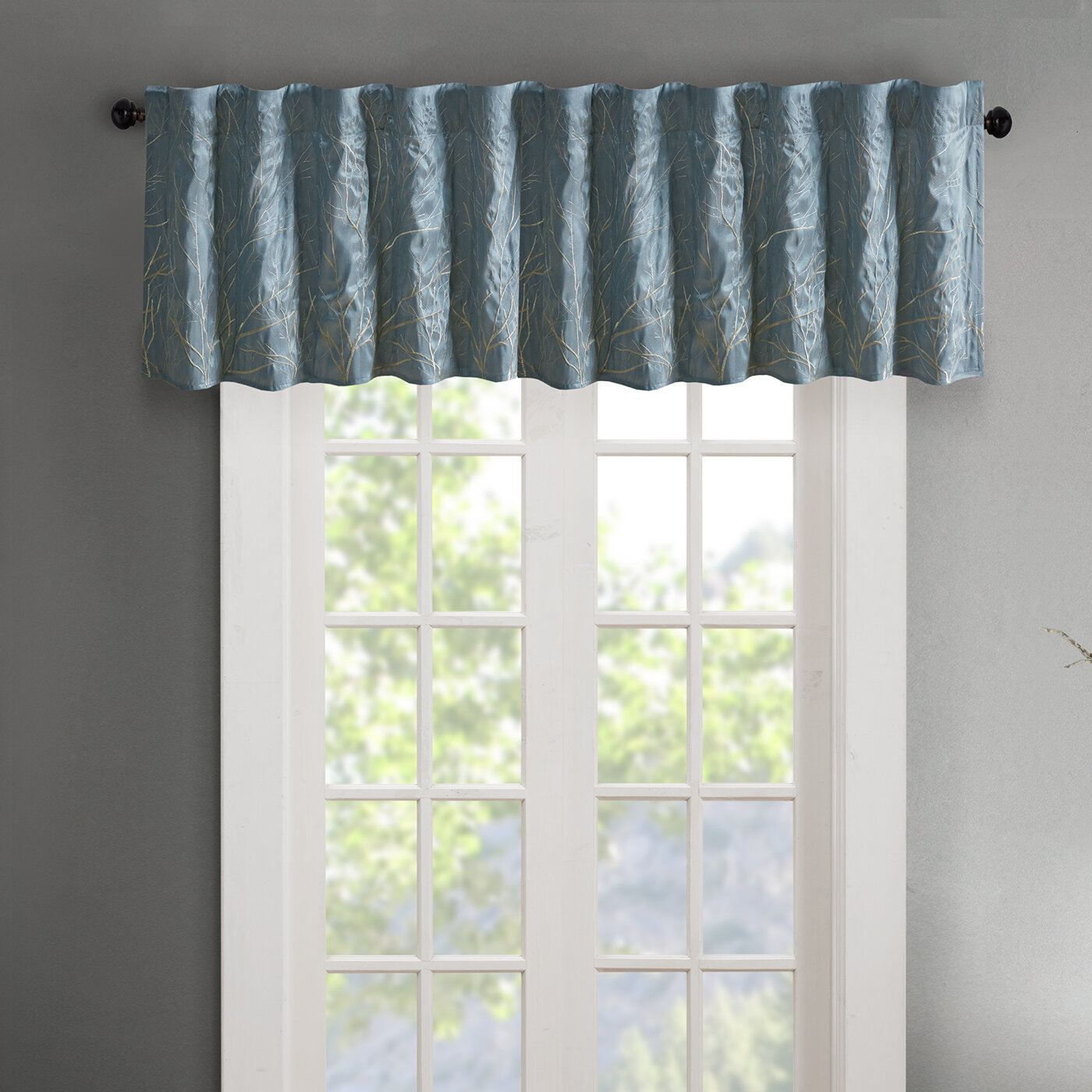 Blue Valances Kitchen Curtains You Ll Love In 2020 Wayfair