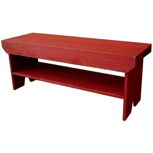 Sawdust City Wood Storage Bench