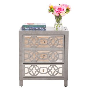 Waddle 3 Drawer Accent Chest by House of Hampton