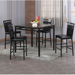 Eugene 5 Piece Counter Height Dining Set