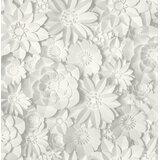 Scholl Floral 33' x 20.5 Wallpaper Roll by Bungalow Rose
