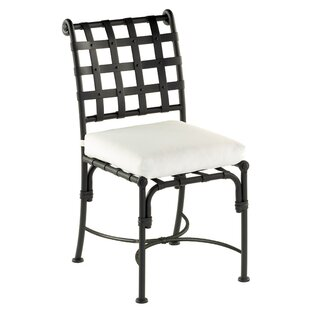 Aikens Patio Dining Chair with Cushion (Set of 2)
