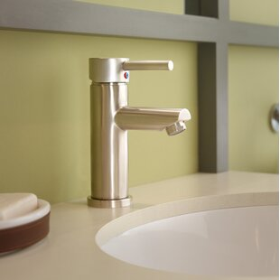 Symmons Dia Round Single Hole Bathroom Faucet with Drain Assembly