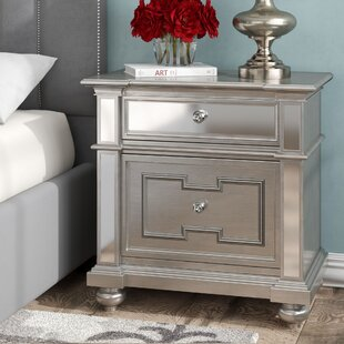 Ronna 2 Drawers Nightstand