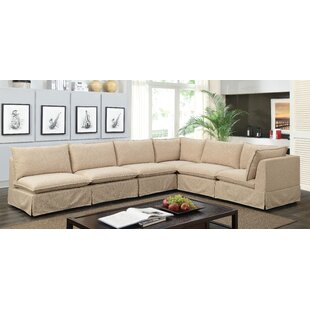 Demosthon Transitional Modular Sectional by Highland Dunes