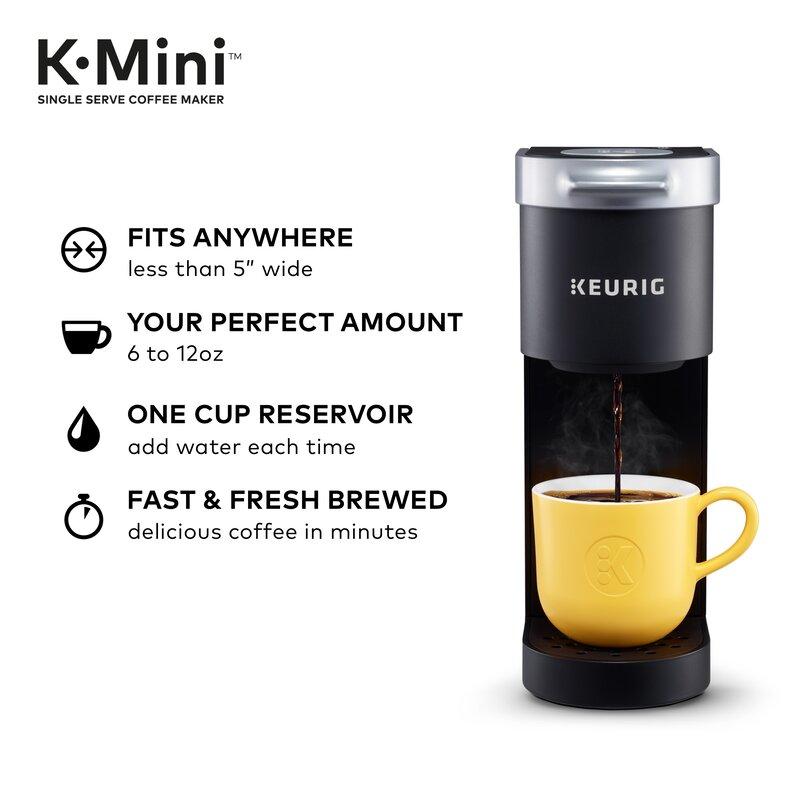 Keurig K-Mini Single Cup Coffee Maker Matte Black