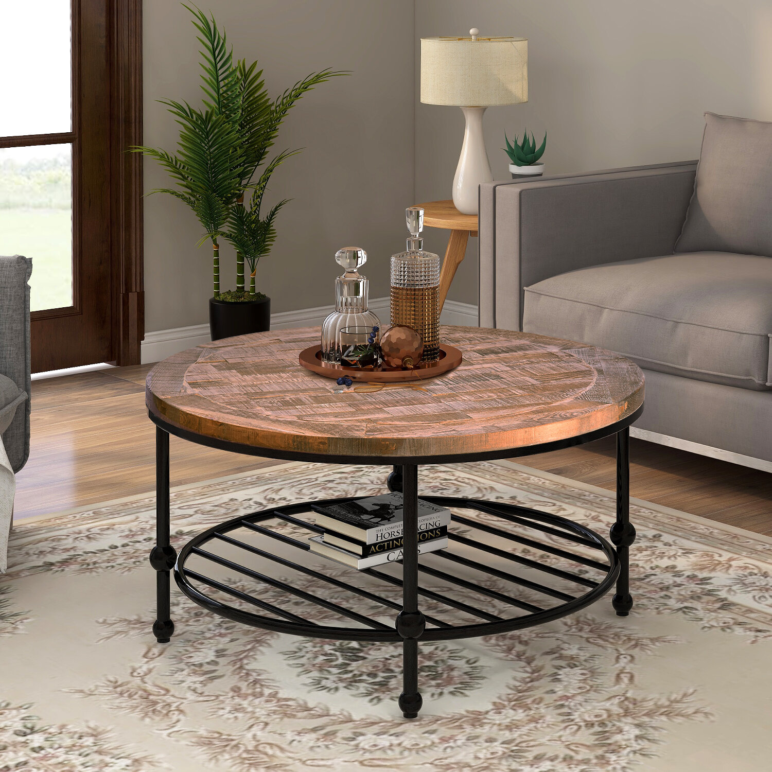 Williston Forge Labelle Coffee Table With Storage Wayfair