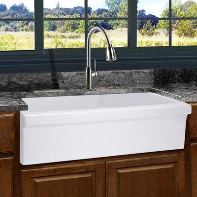 "Nantucket Sinks Cape 36"" x 19"" Farmhouse/Apron Kitchen Sink ..."