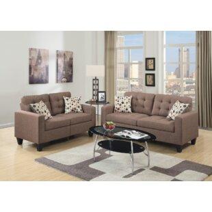 Cohn 2 Piece Living Room Set