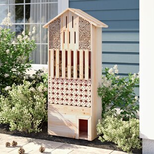 Valya Natural Insect Hotel Free-standing Bumblebee House Image