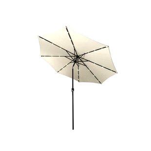 Emig 10' Lighted Umbrella by Brayden Studio
